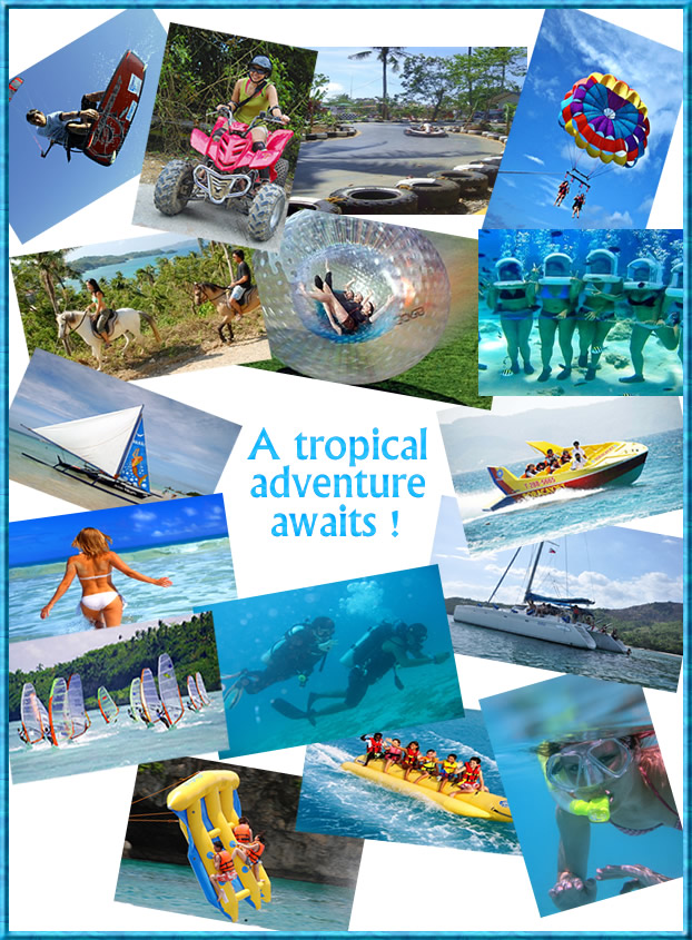 Image result for boracay island activities